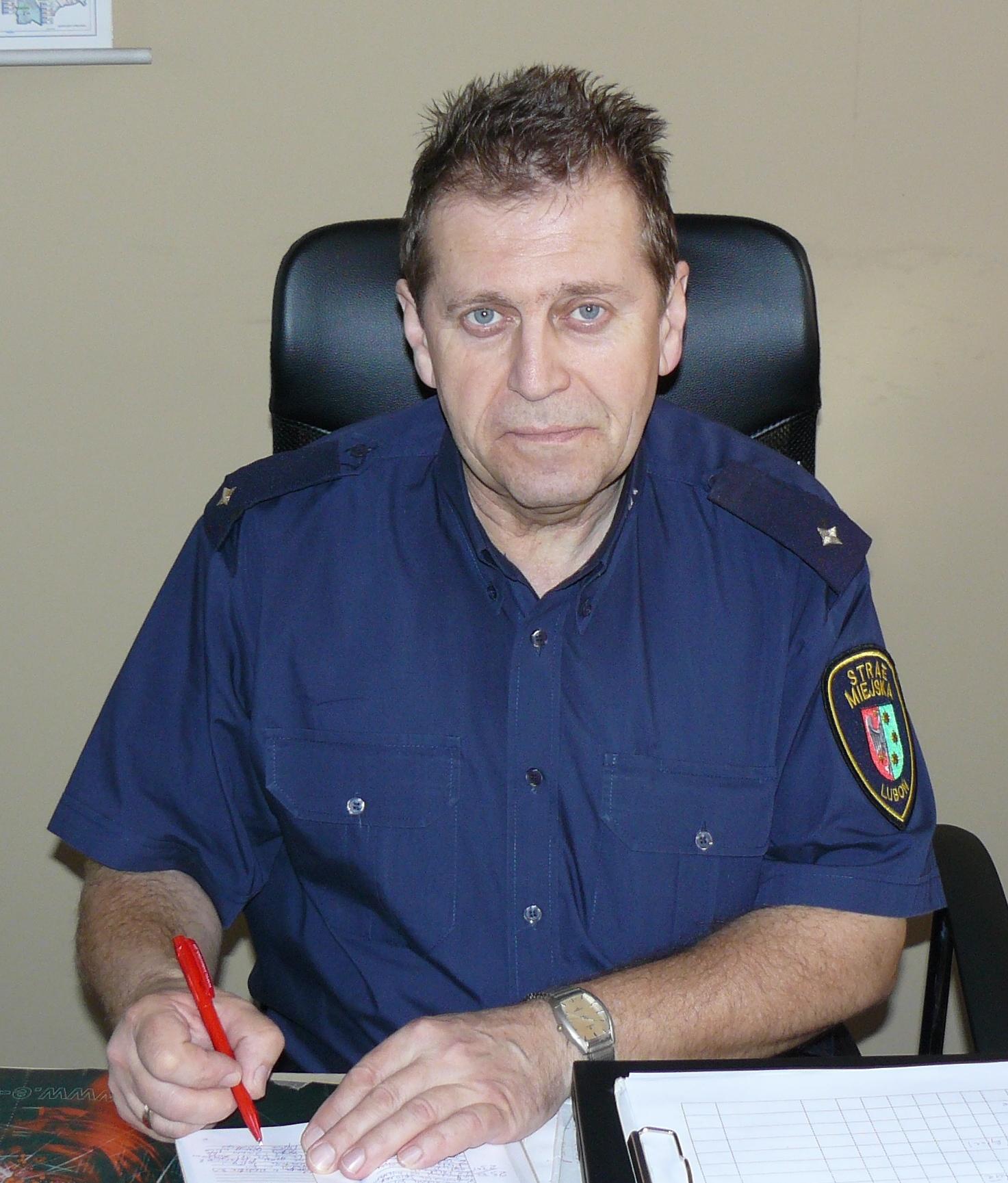 strażnik miejski Krzysztof Guźniczak