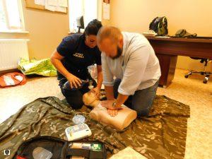Udzielanie pierwszej pomocy przedmedycznej - ćwiczenia