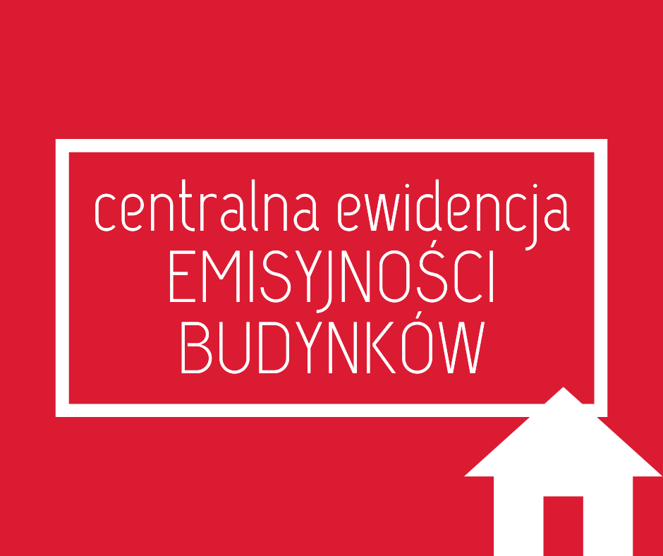 Ulotka Centralnej Ewidencji Emisyjności Budynków